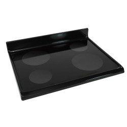 Replace the range ceramic glass cooktop
