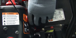 How to install an auger paddle on an Ariens single-stage snowblower video