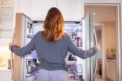 How to replace a door gasket in a French-door refrigerator