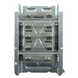 Replace the laundry center dryer heating element