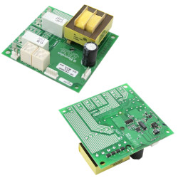 Replace the range relay control board