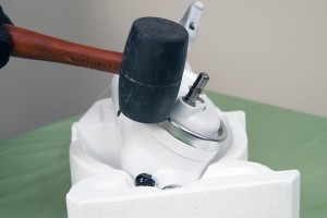 PHOTO: Reinstall the drip ring.