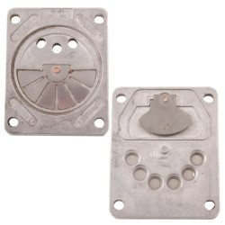 Replace the air compressor valve plate