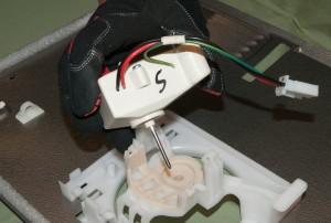 PHOTO: Remove the fan motor.