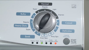 How to calibrate a washer after a repair.