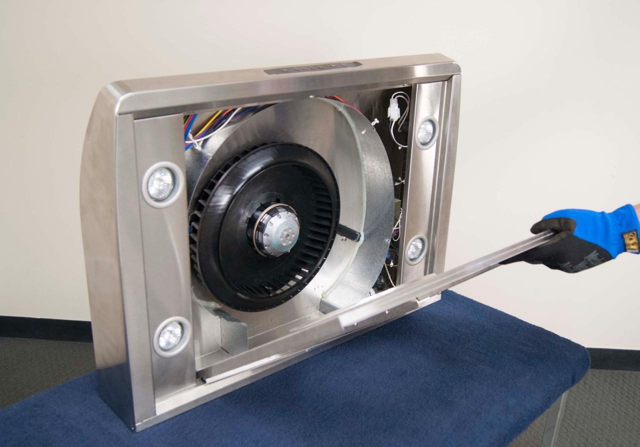 How To Replace A Range Hood Fan Motor Repair Guide