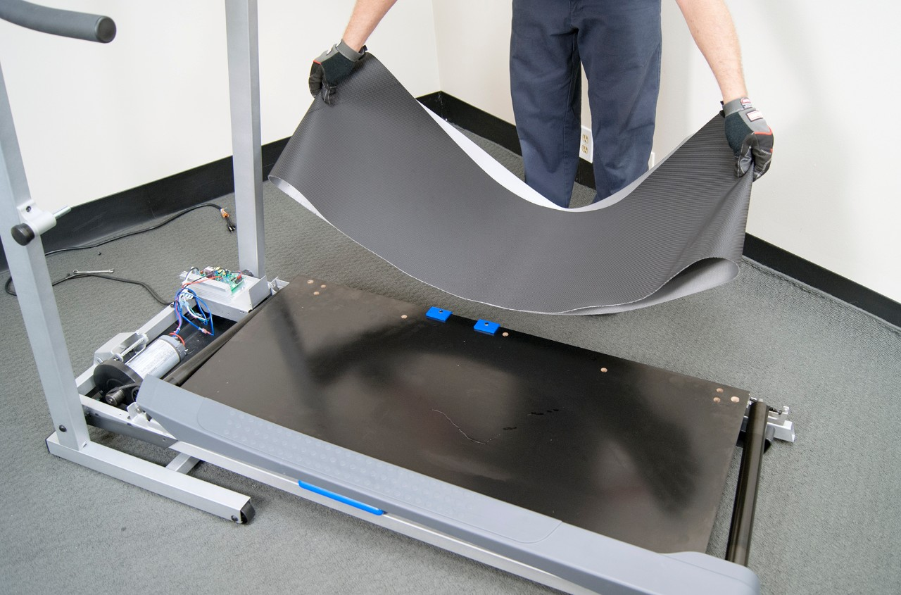 How to replace a treadmill walking belt | Repair guide