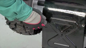 How to lubricate a snowblower drive hex shaft video.