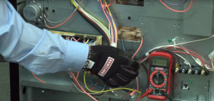 How to use a multimeter to test electrical parts.