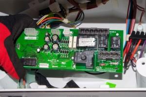 PHOTO: Remove the control board.