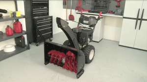 How to adjust a snowblower shift cable video.