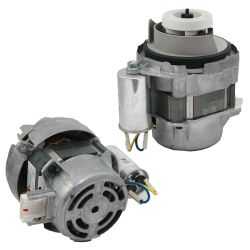 Replace the dishwasher wash pump motor