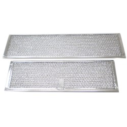 Replace the downdraft vent grease filters