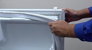 PHOTO: Remove the door gasket.