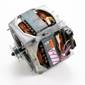 How to replace a laundry center washer drive motor