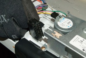 Unplug the wire harness.