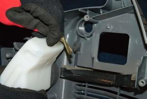 Remove the fuel tank.