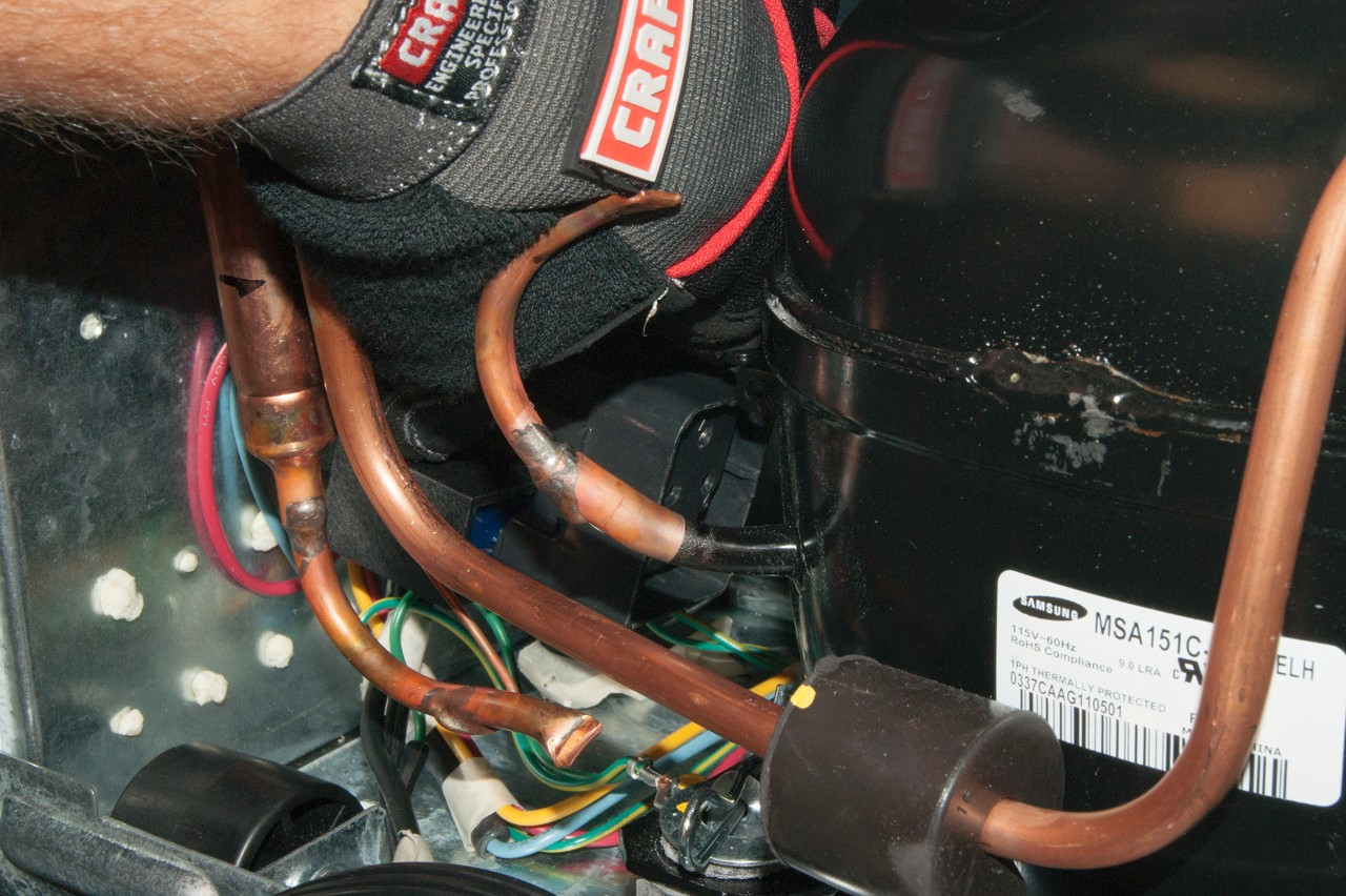 How to replace the compressor start relay in a top-freezer ... Universal Compressor Start Relay Wiring on