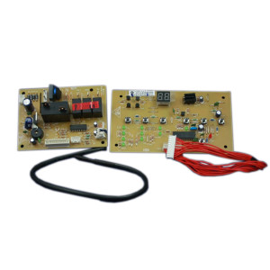 How to replace a window air conditioner user interface control board