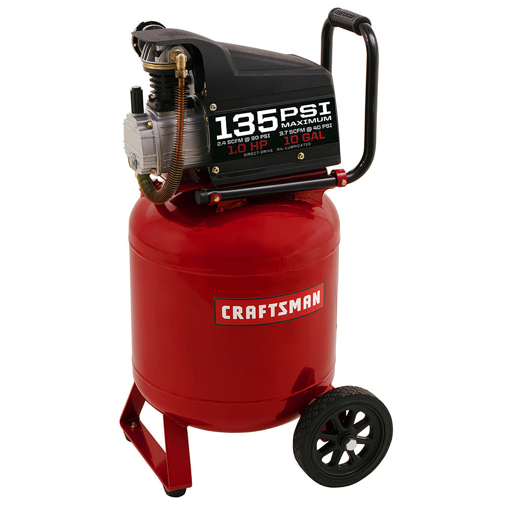 Common air compressor problems - won't start with a full air