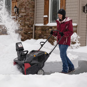The difference between a single-stage snowblower and a dual-stage snowblower.