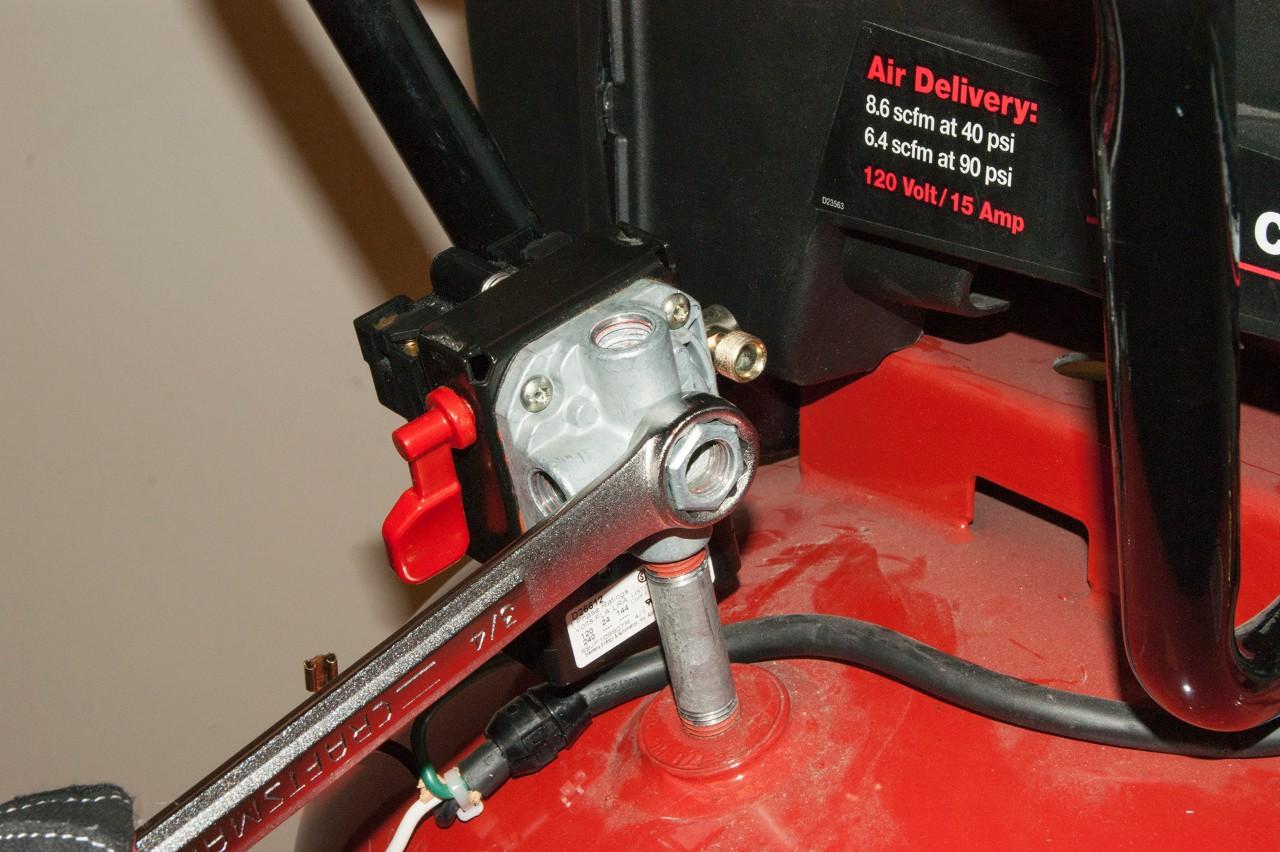 Wiring Air Compressor Switch