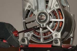 PHOTO: Loosen the Torx screw.