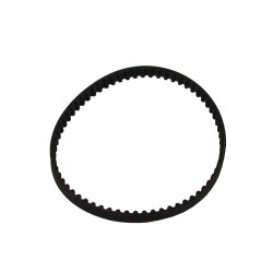 Replace the vacuum cogged drive belt