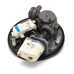 Replace the dishwasher circulation pump and motor assembly