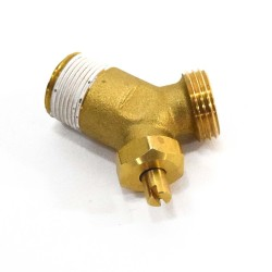 Replace the water heater drain valve