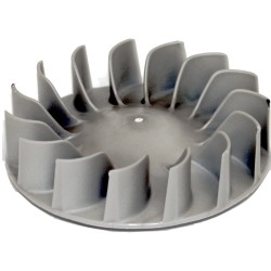 Replace the dryer blower fan blade