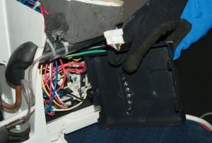 PHOTO: Remove the control board case.