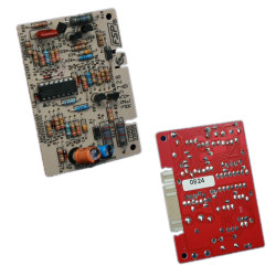 Replace the washer electronic temperature control board