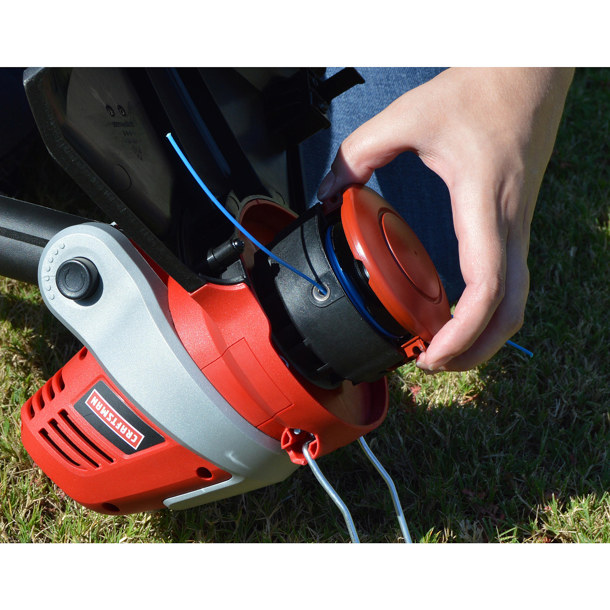Common grass line trimmer problems - leaking gas | Symptom diagnosis