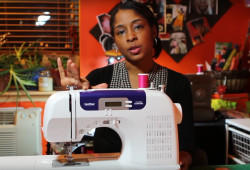 How to stop sewing machine thread from bunching under fabric video