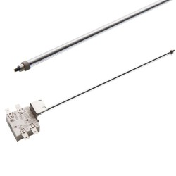 Replace the range temperature limiter on a radiant surface element