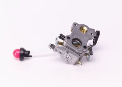 How to replace a line trimmer carburetor