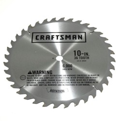 Replace the table saw blade