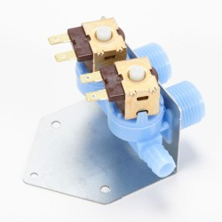 How to replace a water inlet valve on a vertical modular top-load washer