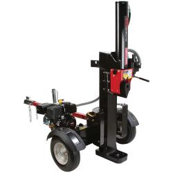 How to maintain the hydraulic system in a log splitter