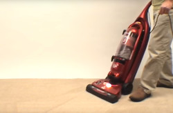 How to troubleshoot loss of suction in a vacuum video