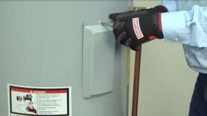 No hot water: electric water heater troubleshooting video.