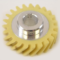 Replace the stand mixer worm gear