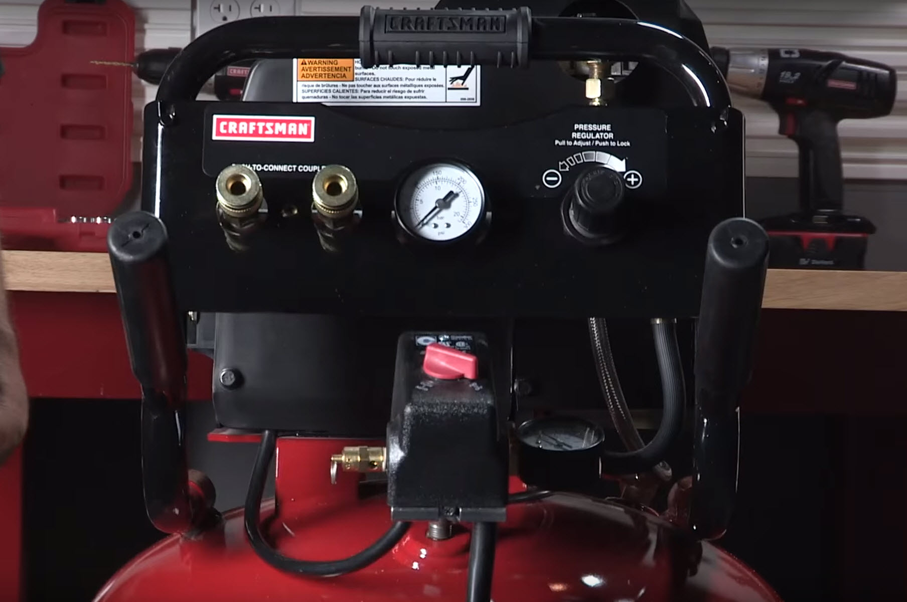 Common air compressor problems - safety valve keeps popping open