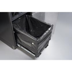 Troubleshooting a stuck trash compactor drawer