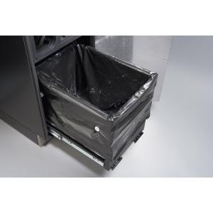 What to check if a trash compactor drawer is stuck.