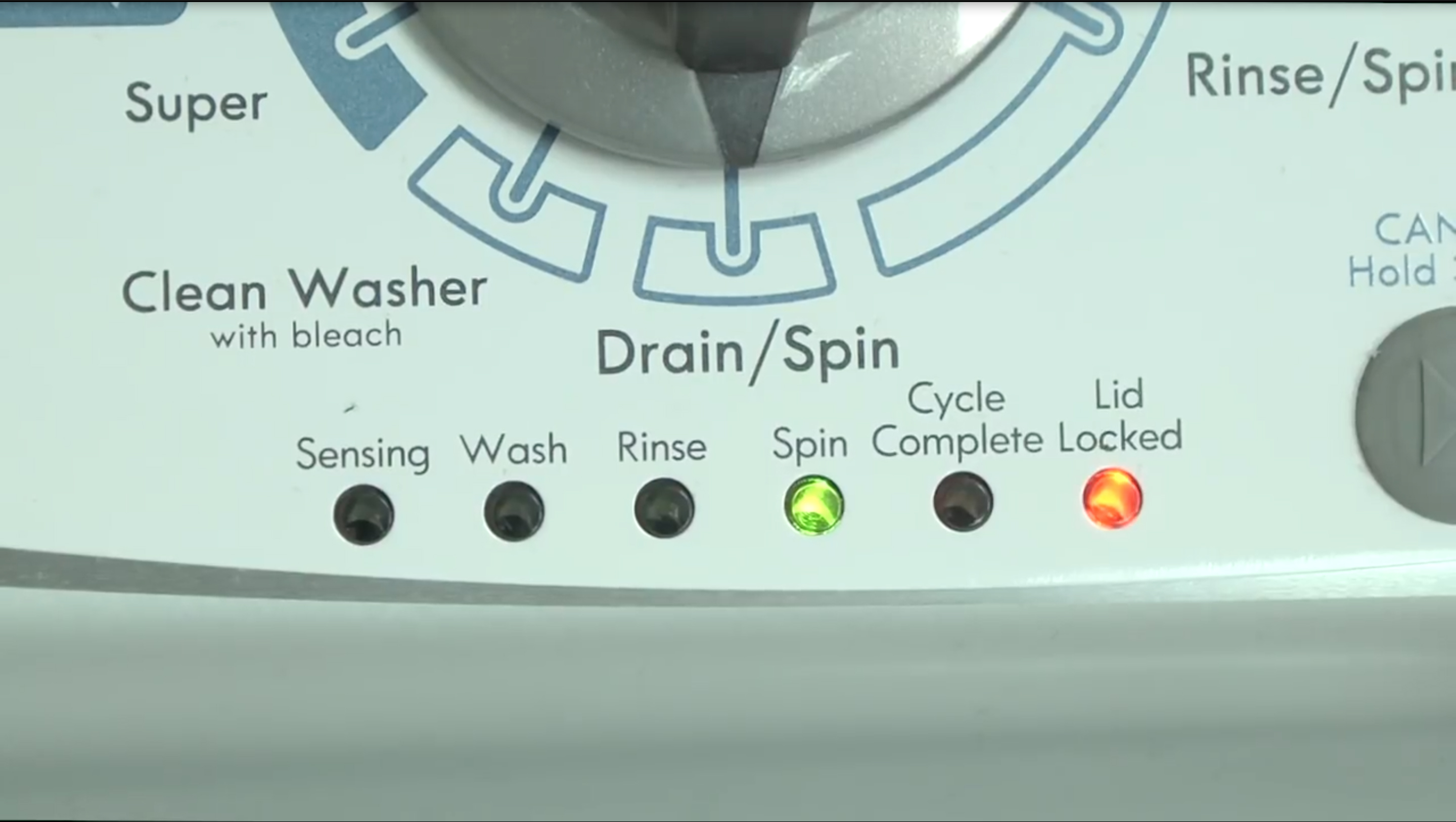 Kenmore top-load washer uE and UE error codes | Washer tips