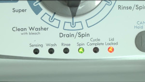 How to display error codes on a vertical modular washer (VMW).