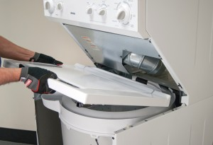 Remove the top washer panel.