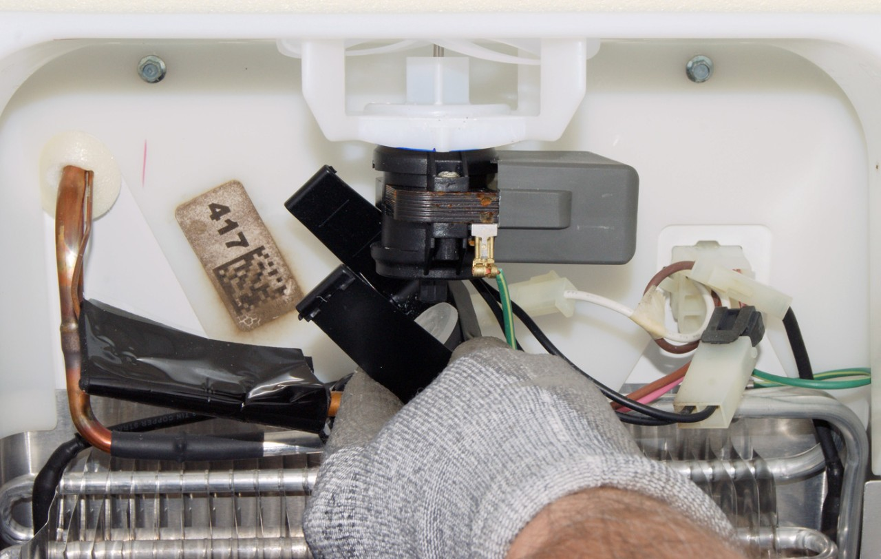 How to replace an evaporator fan motor in a side-by-side ... Fan Relay Wiring Evaporated Motor on